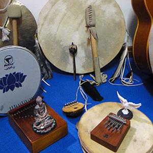 Aulas de Instrumentos Étnicos e Autodesenvolvimento